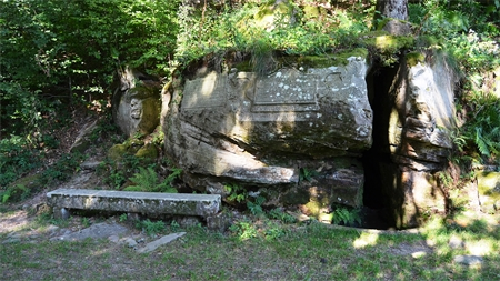 Un trésor caché à Plombières-les-Bains