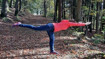 """Le «Yoga Forestier»ou l'art de se reconnecter à tout son """"hêtre""""!"""